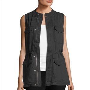 NWT Matty M Olive Cargo Vest